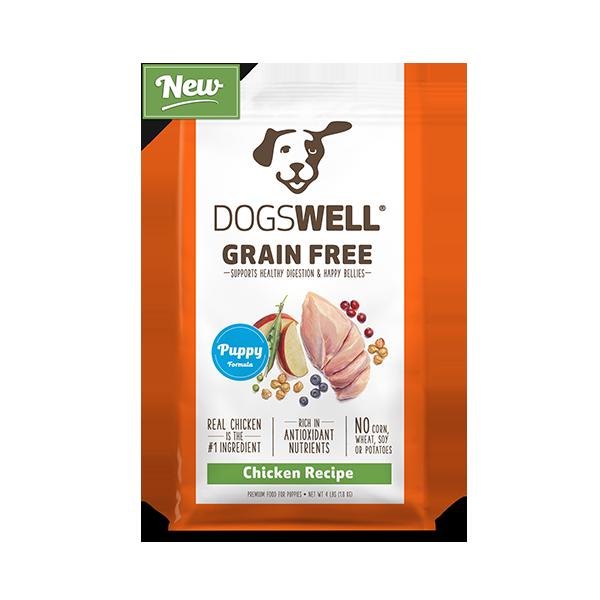 Grain Free Puppy Chicken Recipe Dogswell